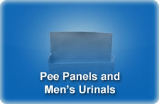 Pee Panels and Mens Urinals