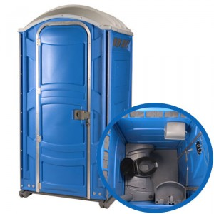 PolyJohn PJN3 Fresh Water Flush Portable Toilet
