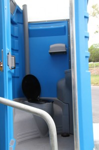 portable toilet and shower